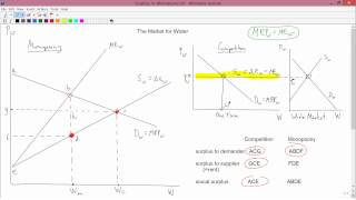 Intermediate Microeconomics: Surplus in Monopsony