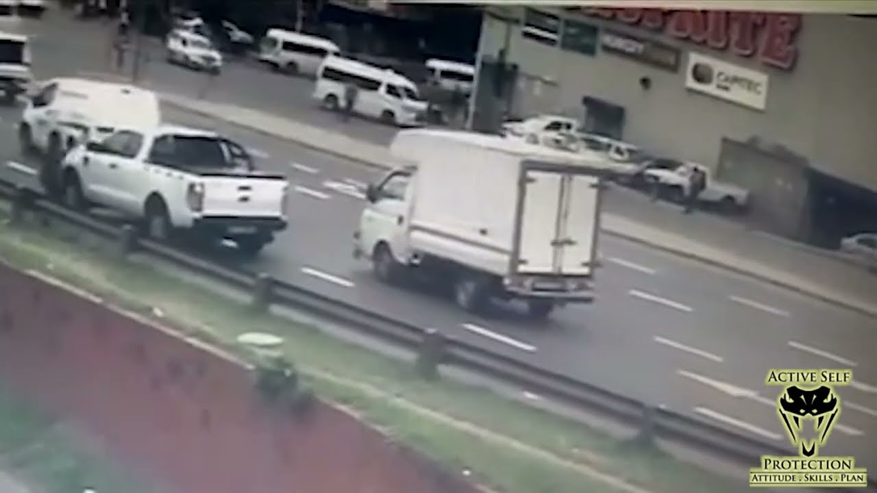 Attempted Robbery While Stopped At A Traffic Light