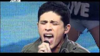 X Factor 1 Greece - Live Show 13 (Final) - Nikolas Metaxas - Dream On
