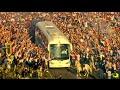 INCREDIBLE Scenes Outside Santiago Bernabeu As Real Madrid Fans Welcome Team Bus Pre Atletico
