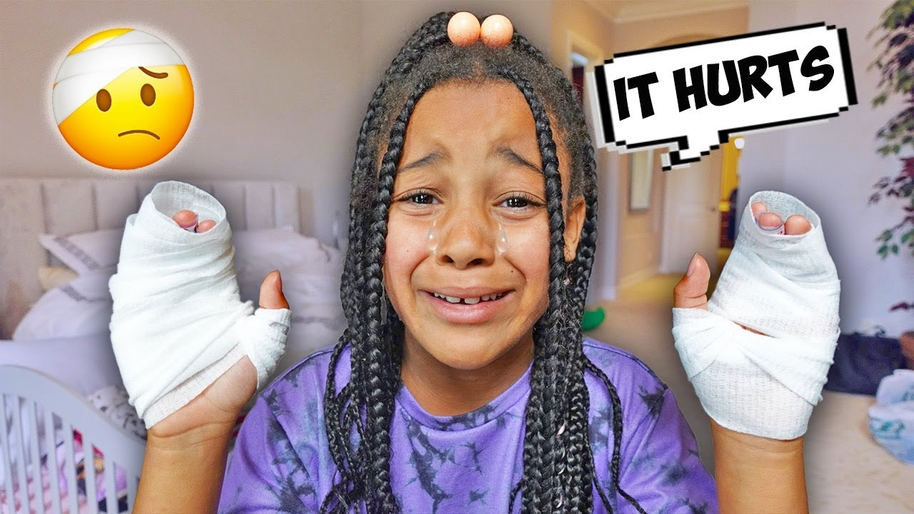 There's something WRONG with Cali's HANDS | FamousTubeFamily