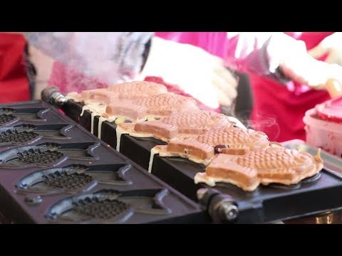 [Korean Street Food] Bungeoppang(fish Shaped Bread)