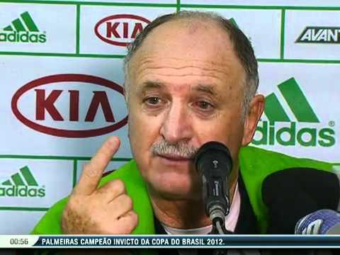 Coletiva Luiz Felipe Scolari: Palmeiras Campeão da Copa do Brasil