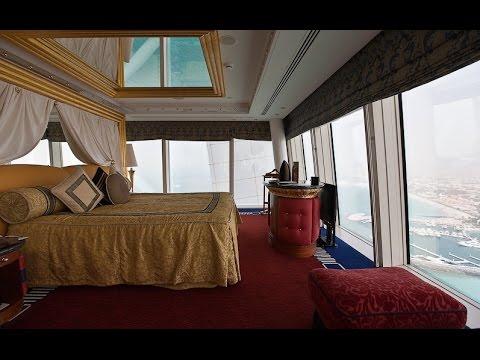 Hotel burj al arab habitaciones de lujo youtube for Cuanto cuesta una recamara completa