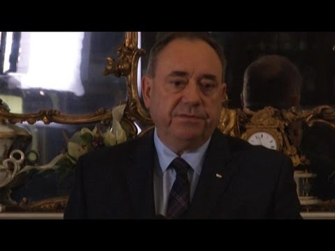 Scottish independence leader Salmond to step down