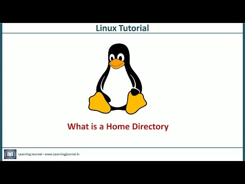 Linux Tutorial - What is Home Directory