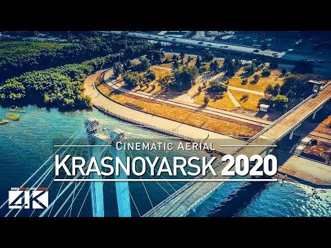 【4K】Drone Footage   Krasnoyarsk - The Jewel Of Siberia   RUSSIA 2019 ..:: Aerial Film   Красноя́рск