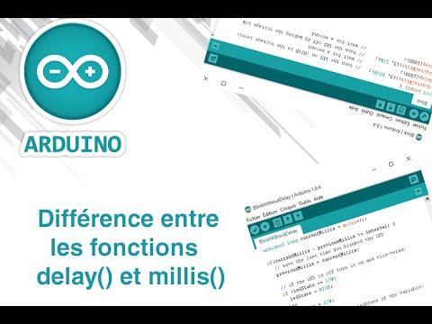 Fonctions delay() et millis(), leurs différences - Arduino