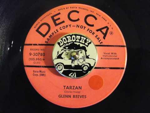 Glenn Reeves - Tarzan - Decca Record