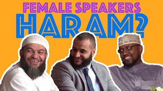 MOHAMMED HIJAB DEFEND'S FEMALE SPEAKERS TO SH. HAITHAM AL-HADDAD