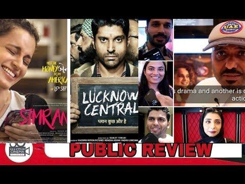 Simran & Lucknow Central movies Public Review UAE | Kangana Ranut | Farhan Akhter