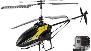 Heliguy Titan Rc Helicopter Lifting Gopro Hero 3