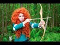 Disney s BRAVE Merida Makeup Tutorial