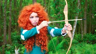 Disney's BRAVE Merida Makeup Tutorial Thumbnail