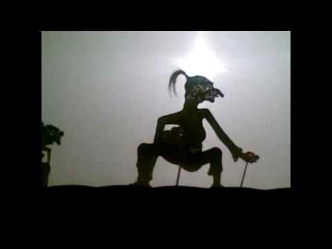 Lucu..!!wayang joget hiphop-aku tresno kowe