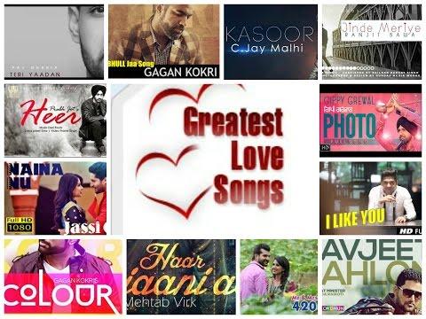 Greatest Punjabi Love Songs 2016 || Video Jukebox || Punjabi Love Songs || Top 10 Love Songs 2016