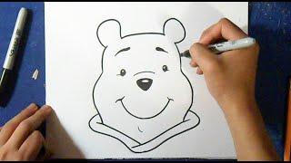 Como desenhar Winnie Pooh