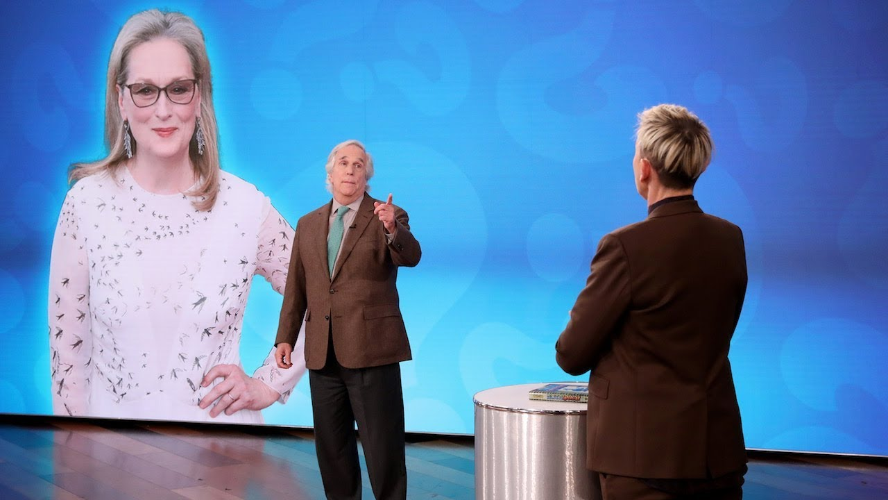 Henry Winkler's Celebrity Knowledge Tested in 'Who Dat?'