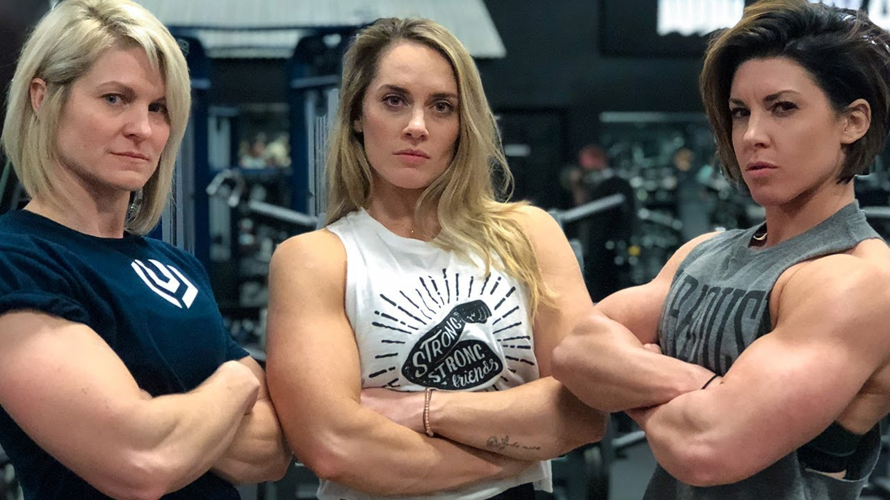 Women Try the FULL NFL Combine - 225 Bench Press For Reps | Dana Linn  Bailey, Jennifer Thompson