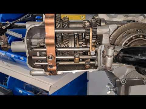 Funktion der Kugelführung im Getriebe für Schaltstangen bei Puch 500 und 650 Bj. 1957-1968