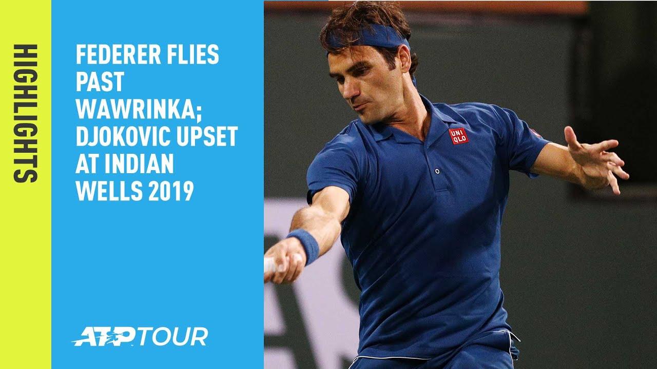 Nadal, Federer Headline Round Of 16 Day In Indian Wells