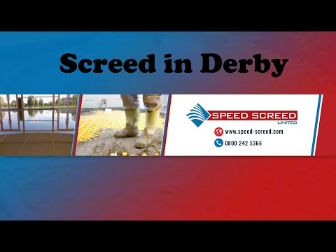 Screed in Derby