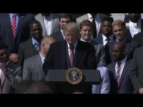 President Trump hosts the National Champion Alabama Crimson Tide