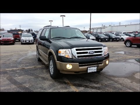 2012 Ford Expedition XLT Start up, Walkaround and Vehicle Tour