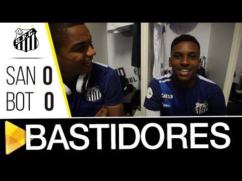 Santos 0 (3) x 0 (1) Botafogo-SP | BASTIDORES | Paulistão (21/03/18)