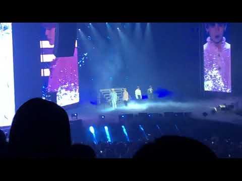 [FANCAM]BTS(방탄소년단) V Jimin Jungkook Jin-The Truth Untold 180923 Hamilton Love Yourself World Tour