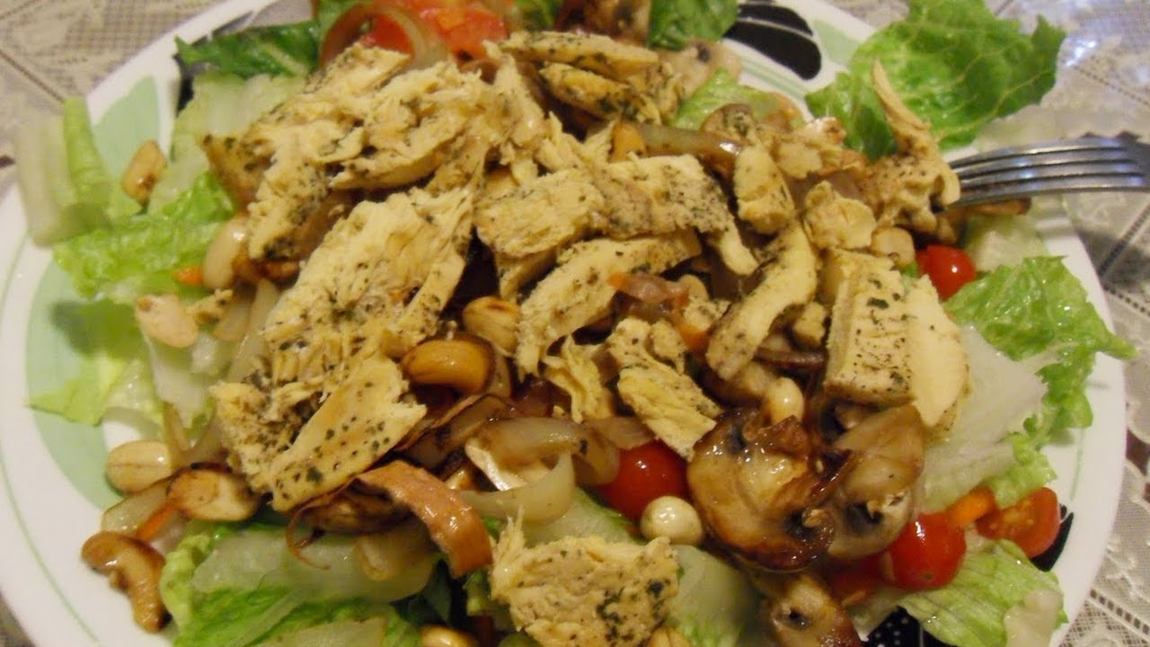 recetas de ensalada de pollo con diabetes