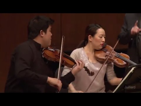 Beethoven String Quartet No.14 in C-sharp Minor | Juilliard Joel Smirnoff Chamber Music Master Class