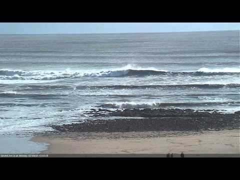 Huge and Offshore at Langland Bay- GowerLive