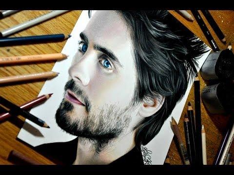 Drawing Jared Leto