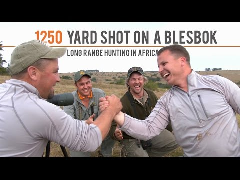 1250 Yard Shot On A Blesbok | Long Range Hunting In Africa