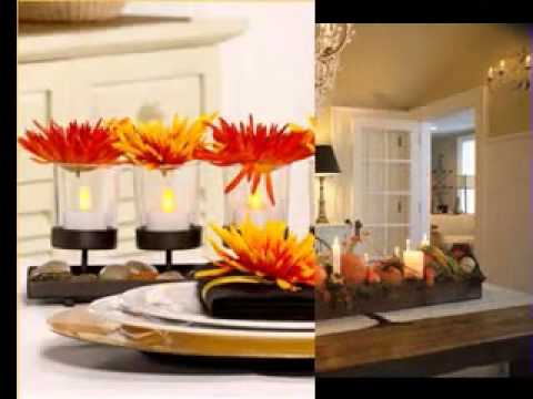 Thanksgiving Table Decorations Ideas YouTube - Table decorating ideas for thanksgiving