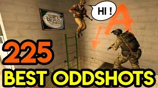 "CSGO - ""LADDER TROLL"" - BEST ODDSHOTS #225 (+GIVEAWAY)"