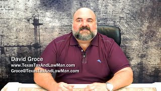 Texas Tax and Law Man: New Tax Laws (12/05/2017)