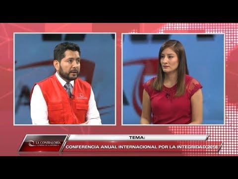 CONTRALORÍA TV | Conoce los detalles de la Conferencia Internacional por la Integridad (CAII) 2018
