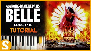 "How to play ""BELLE"" from Notre Dame de Paris by Cocciante 