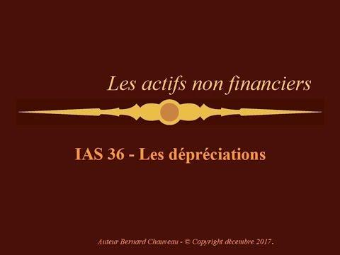 IAS 36 - LES DEPRECIATIONS