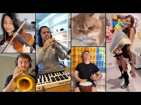 The Kiffness - Numnum Cat (International Mashup)