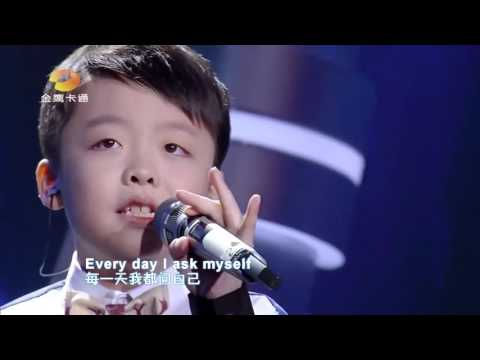 Tell Me Why - Jeffrey li  (The Voice Kid Chinese)