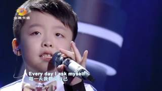 Tell Me Why (The Voice Kid Chinese) - Amazing Voice