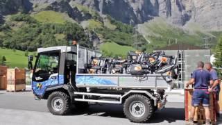 Luggage distribution Swiss Epic