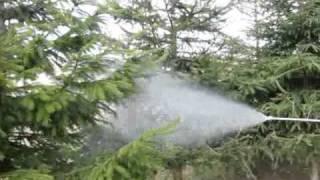 OPRYSKIWACZ SPALINOWY HORNET power sprayer.avi