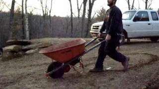 Gas Powered True Temper Wheelbarrow