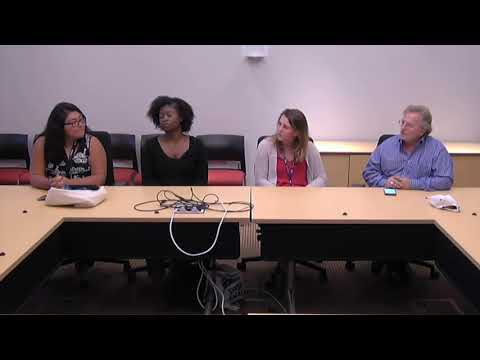 SCU Public Health Summer Internship Panel Discussion