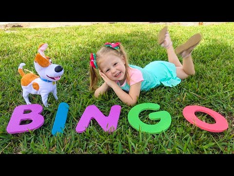 Bingo song for kids by Nastya