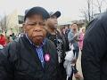 Congressman Lewis: Women's Marches 'Gratifying'